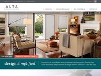 CBG Window Fashion Website Redesign