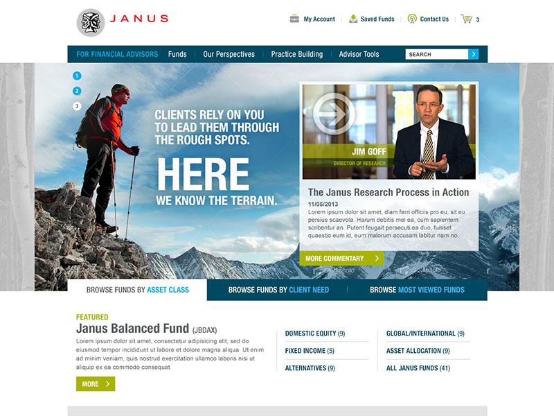 Financial Advisor Fund Web Site  interface design stock broker brokerage firm broker financial advisors funds stock market finance