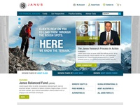 Financial Advisor Fund Web Site