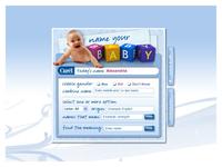 Baby Naming Widget