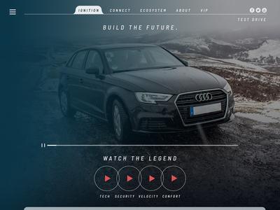 Audi Ui Website