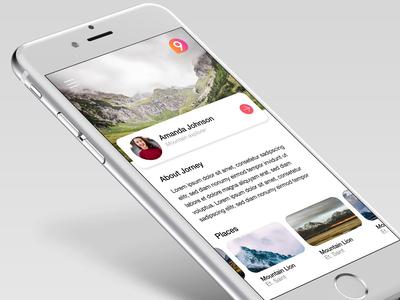 Moutain Explorer App