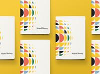Signal Theory Notebooks branding notepad notebook