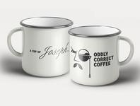 A cup of joseph snob mustache mug monocle caffeine cafe coffee mug coffee