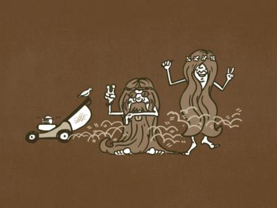 Mocha Haze Packaging Illustration