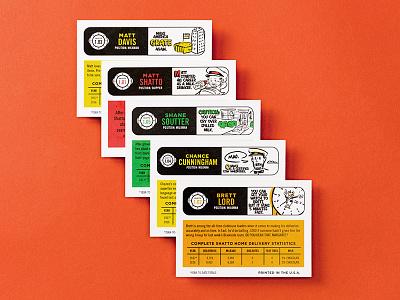 Shatto Milkman Cards ink vintage baseball cards cards milkman milk baseball