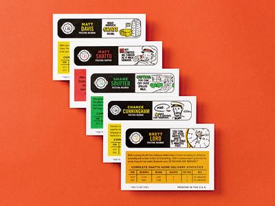 Shatto Milkman Cards