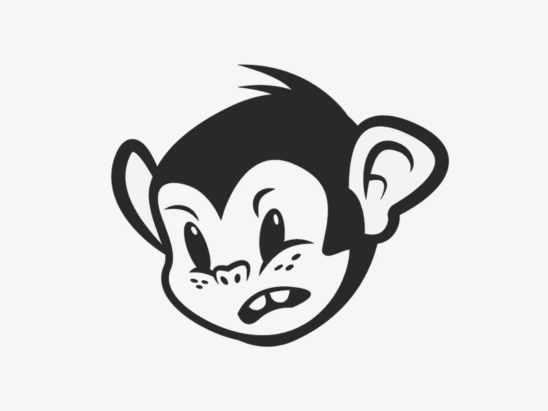 Angry Monkey freckles ears teeth monkey