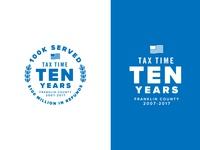 2017 Tax Time Badge