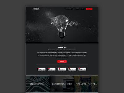 Comunication Idea html developer layout web design web design ui sketch ux webdesign boostrap layout
