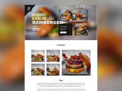 Mosto Generoso - The Hamburgeria layout web html sketch ui webdesign boostrap layout