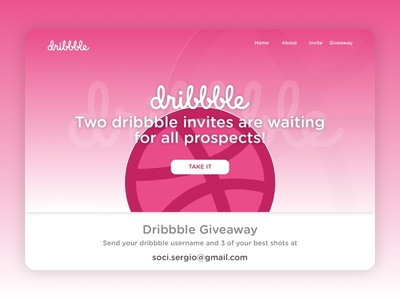 2X Dribbble Invite new player dribbble giveaway layout web responsive web design contest welcome dirbbble invite giveaway dribbble invite