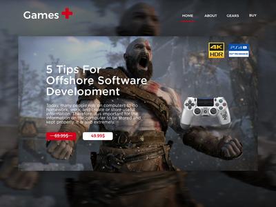 Shop Games interface inspiration graphicdesignui minimal userinterface uidesign graphic webdesign design ux dribbble ui