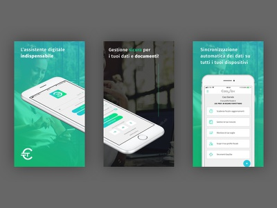 App Store Mockup app concept tax secure web desing android ios layout app mobiel app store