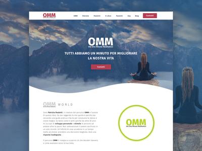 OMM World meditate nature relax svg animation anima ux design uidesign web design desiginspiration layoutdesign sketch 52