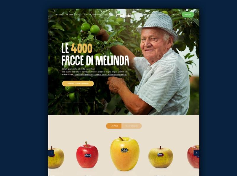 Melinda News Site sketch web design development sass css boostrap atom dev apple melinda