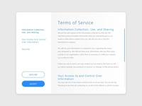 Daily Ui 089 Terms Of Service