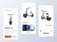 E-Scooter App UI