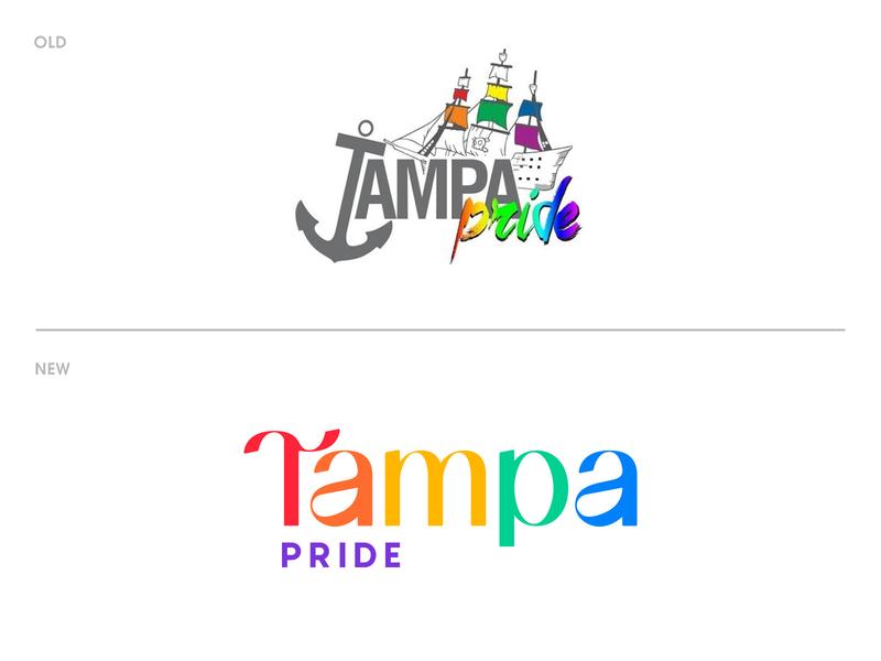 Tampa Pride Rebrand