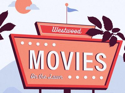 Take Me to Westwood texture typography north carolina stpete asheville westwood retro vintage movies