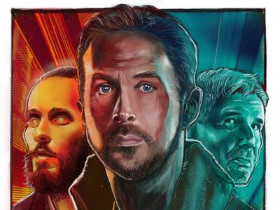 Blade Runner 2049 Alternative Poster blade runner poster illustration