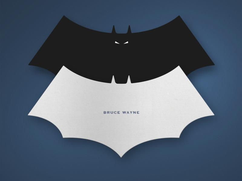BATMAN Businesscard adobe illustrator branding logo comic adobe photoshop design businesscard batman weekly challenge weekly warm-up