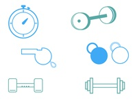 Weight Icons