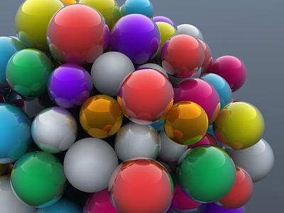 Gum ball machine 3d model model 3d motion design render design cinema4d