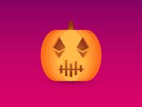 Crypto Halloween Pumpkin