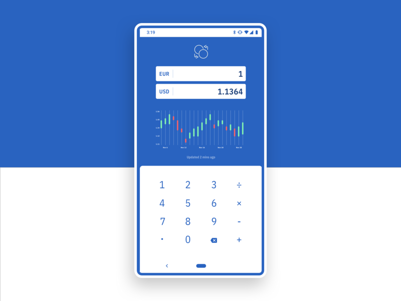 currency converter w calculator by peacebot artur didenko