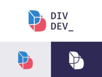 DivDev Logo. Personal branding logo design