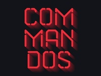 Commandos. Logo for friends