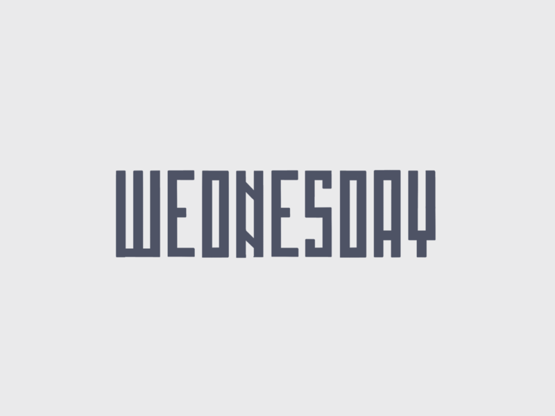 Wednesday. Lettering. craft ipadpro procreate designtip dailytype handlettering lettering typography