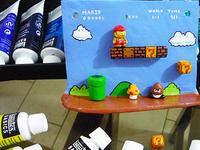 Super Mario Bros wall ornament