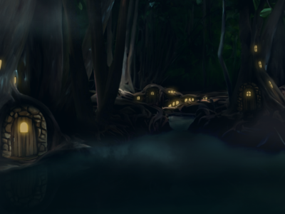 Swamp illustration ikigames character photoshop videogames games dragonscales swamp