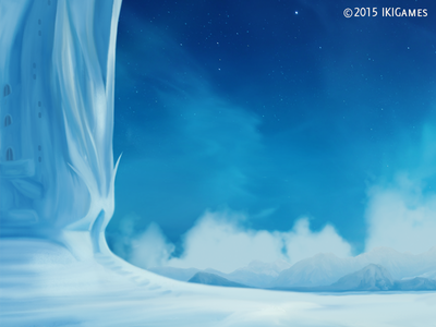 Frozen Land background ikigames illustration photoshop videogames games dragonscales