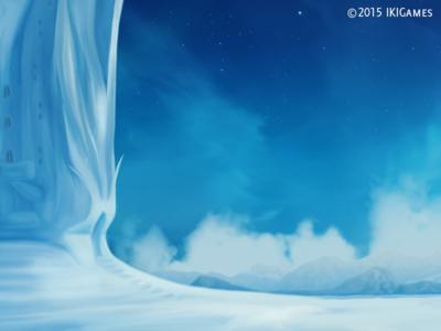 Frozen Land background ikigames illustration photoshop videogames games dragonscales