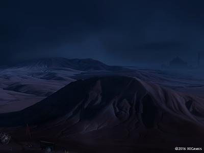 Dark Dune dune background ikigames illustration photoshop videogames games dragonscales