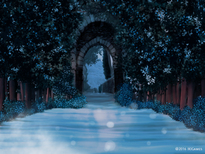 The other gate gate snow background ikigames illustration photoshop videogames games dragonscales