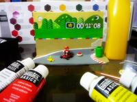 Super Mario Kart Wall Ornament