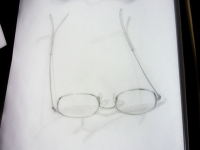 Eyeglasses eyeglasses glasses pencil illustration