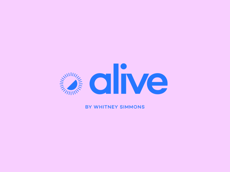 Alive by Whitney Simmons - Branding