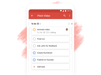 Todoist Boards – Add Task (Android) board kanban project real live app icon todoist task management todo productivity