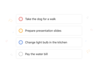 Todoist Priority Colours