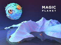 magic planet c4d