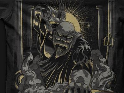 Hephaestus Shirt hephaestus greek god blacksmith art illustration design illustrator vector seventhfury seventh.ink shirt t-shirt matthew johnson