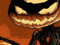 Pumpkin King Detail