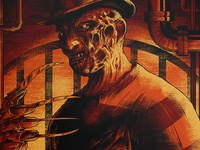 Freddy's Coming For You print detail