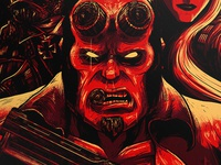 Hellboy - Angels and Demons Print
