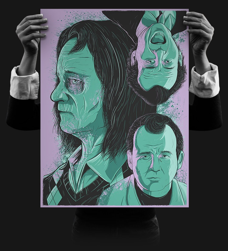 Print bill murray